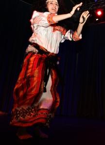 Linda Mameri Kabylischer Tanz Hamburg - Foto: Marie Tabuena